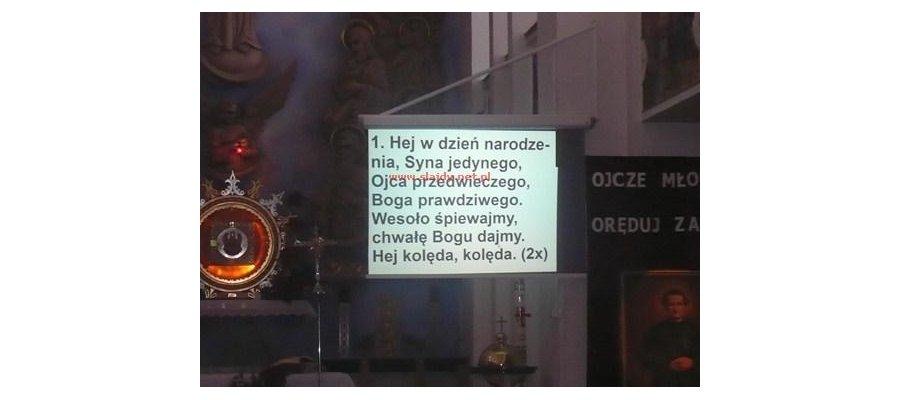 Pełny system multimedialny do kościoła z montażem + baza tekstów pieśni do projektorów - zdjęcie