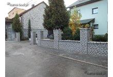 Ogrodzenia z kamienia, ogrodzenie kamienne - zdjęcie