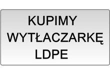 KUPIMY WYTŁACZARKĘ DO FOLII LDPE z regranulatu - zdjęcie