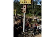 Pale betonowe prefabrykaty wibromłot - wynajem - zdjęcie