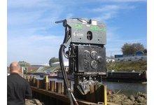 Wibromłot ICE 20 RFW do pracy na dźwigu - wynajem - zdjęcie
