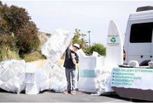 Wywóz odbiór odpadów styropianowych EPS odpady styropianu - zdjęcie