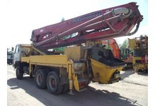 Pompa do betonu 32 m usługi wynajem dzierżawa - zdjęcie