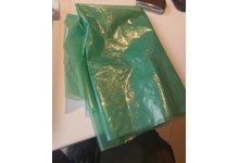 Worki LDPE 60l. zielone - zdjęcie