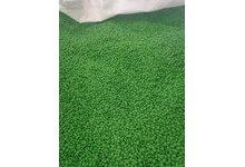 Regranulat HDPE zielony - zdjęcie