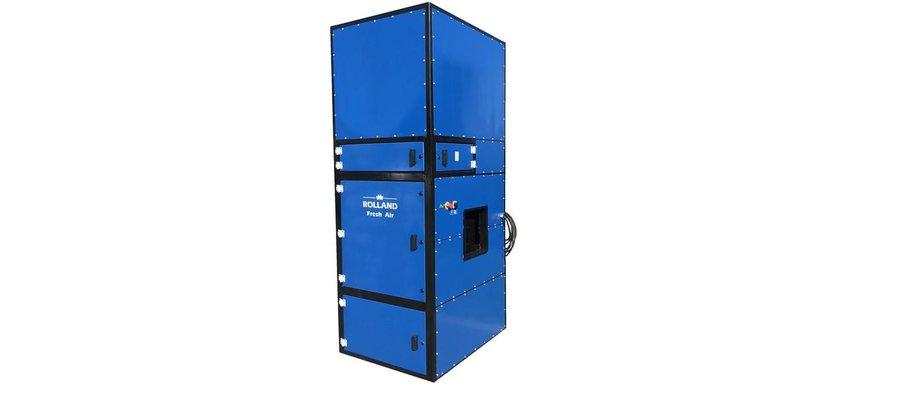 Odciąg wyciąg dymu spawalniczego spawalnia filtr plazmy wentylacja filtrowentylacja - zdjęcie