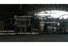 Automatyczna linia technologiczna, produkcyjna STYROPIANU EPS, fabryka - zdjęcie