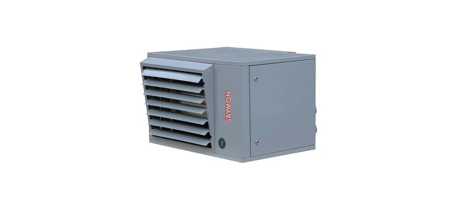 Nagrzewnica kondensacyjna gazowa wymiennikowa SAYMON typu XM 30 - zdjęcie