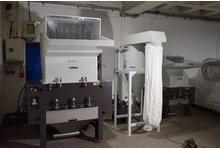 Młyn granulator kruszarka do tworzyw 22kW + Układ odpylania - zdjęcie