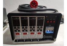 Termoregulator gorących kanałów, Sterownik temperatury 4 strefy - zdjęcie