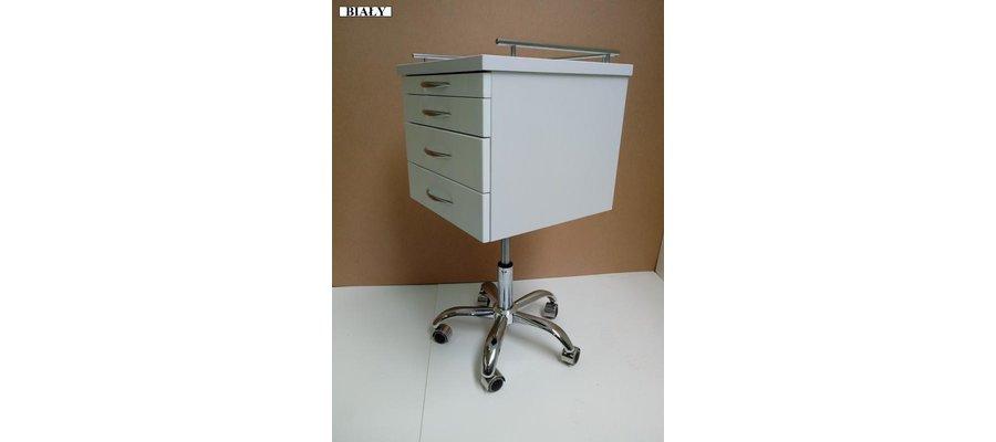 Asystor stomatologiczny Asystor medyczny Lakier biały - zdjęcie