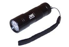 Latarka UV, lampka diodowa 12 led - zdjęcie