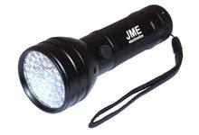 Latarka UV, lampka diodowa 51 led - zdjęcie