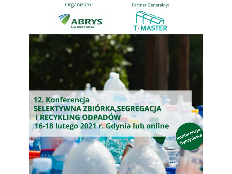 12. Konferencja Selektywna zbiórka, segregacja i recykling odpadów zdjęcie