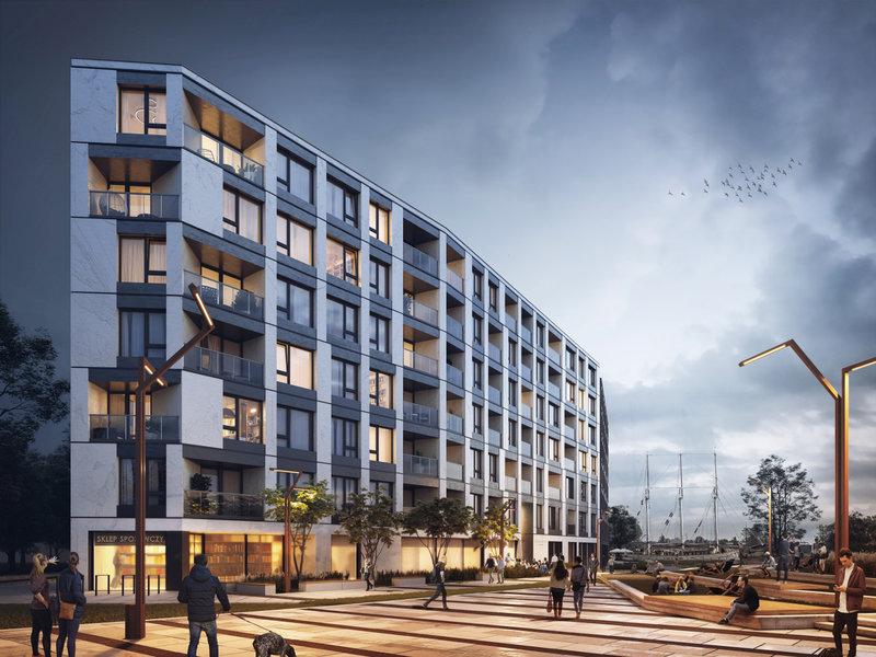 Chlebova Apartamenty – budowa w Gdańsku na ostatniej prostej zdjęcie