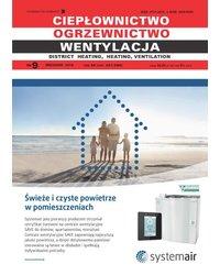 Ciepłownictwo Ogrzewnictwo Wentylacja 9/49/2018 - okładka