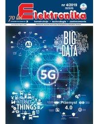 Elektronika - konstrukcje, technologie, zastosowania 4/2019 - okładka