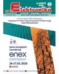 Elektronika - konstrukcje, technologie, zastosowania 8/2019 - okładka