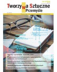 Tworzywa Sztuczne w Przemyśle 4/2018 - okładka