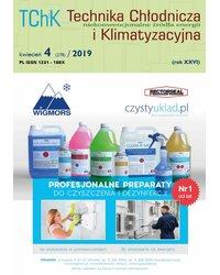 Technika Chłodnicza i Klimatyzacyjna 4/2019 - okładka