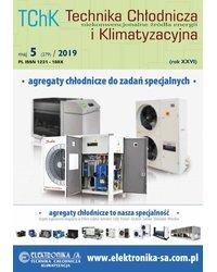 Technika Chłodnicza i Klimatyzacyjna 5/2019 - okładka