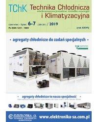 Technika Chłodnicza i Klimatyzacyjna 6-7/2019 - okładka