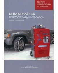 Klimatyzacja pojazdów samochodowych. Technika klimatyzacyjna dla praktyków - okładka