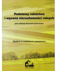 Podstawy rolnictwa i wycena nieruchomości rolnych - okładka