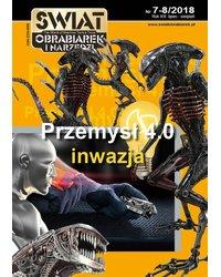 Świat Obrabiarek i Narzędzi 7-8/2018 - okładka