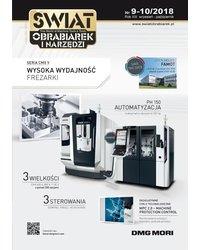 Świat Obrabiarek i Narzędzi 9-10/2018 - okładka