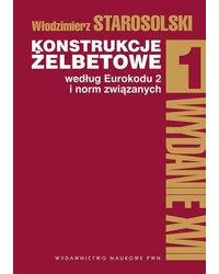 Konstrukcje żelbetowe według Eurokodu 2 i norm związanych Tom 1 - okładka