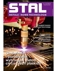 STAL Metale & Nowe Technologie 11-12/2019 - okładka