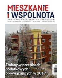 Mieszkanie i Wspólnota 203/2019 - okładka