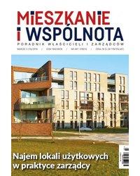 Mieszkanie i Wspólnota 206/2019 - okładka