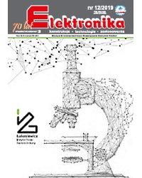 Elektronika - konstrukcje, technologie, zastosowania 12/2019 - okładka