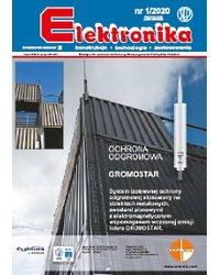 Elektronika - konstrukcje, technologie, zastosowania 1/2020 - okładka