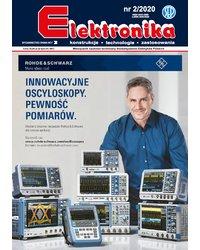 Elektronika - konstrukcje, technologie, zastosowania 2/2020 - okładka