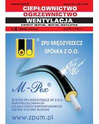 Ciepłownictwo Ogrzewnictwo Wentylacja 4/51/2020 - okładka