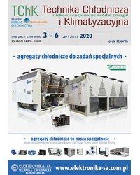 Technika Chłodnicza i Klimatyzacyjna 3-6/2020 - okładka