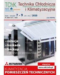 Technika Chłodnicza i Klimatyzacyjna 7-9/2020 - okładka