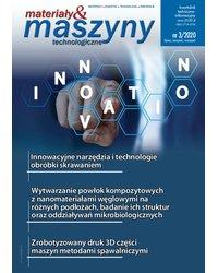 Materiały i Maszyny Technologiczne 3/2020 - okładka