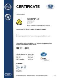 Certyfikat ISO 9001 - zdjęcie