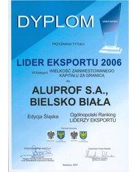 Lider Eksportu 2006 - zdjęcie