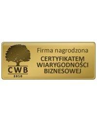 Certyfikat wiarygodności biznesowej 2010 - zdjęcie