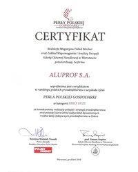 Certyfikat Perła Polskiej Gospodarki - zdjęcie