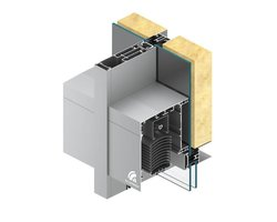 System fasadowy kompatybilny z żaluzjami SkyFlow MB-SR50N ZS - zdjęcie