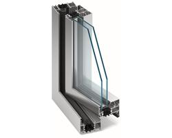 Systemy okienno-drzwiowe z izolacją termiczna MB-70 - zdjęcie