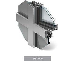 Systemy okienno-drzwiowe MB-70CW, MB-70CW HI - zdjęcie