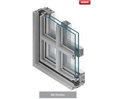 System okien o wąskich profilach MB-SLIMLINE - zdjęcie
