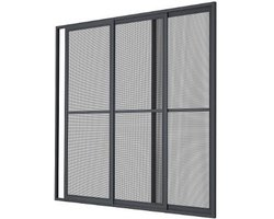 Moskitiera ramkowa stała do zlicowanych okien aluminiowych MRSZ - zdjęcie